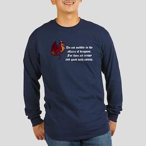 Dragons Long Sleeve Dark T-Shirt