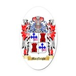 MacNeight Oval Car Magnet