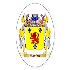 MacNee Sticker (Oval 50 pk)