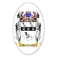MacNeacail Sticker (Oval 10 pk)