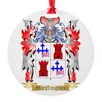 MacNaughten Round Ornament