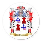 MacNaughten Round Car Magnet