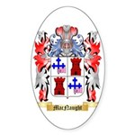 MacNaught Sticker (Oval 50 pk)