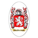 MacMurrough Sticker (Oval 50 pk)