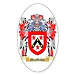 MacMillan (Ireland) Sticker (Oval)