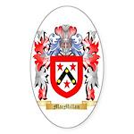 MacMillan (Ireland) Sticker (Oval 50 pk)