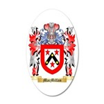 MacMillan (Ireland) 35x21 Oval Wall Decal