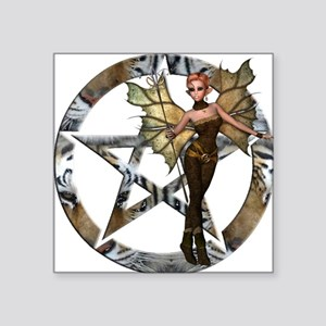 Pentacle Woodland Fairy 2 Sticker