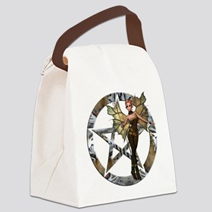 Pentacle Woodland Fairy 2 Canvas Lunch Bag