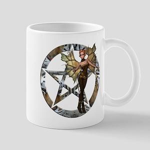 Pentacle Woodland Fairy 2 Mugs