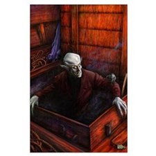 Dracula Nosferatu Vampire Large Poster