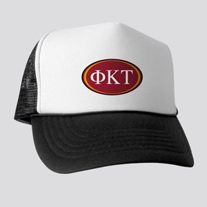 Phi Kappa Tau Letters Trucker Hat