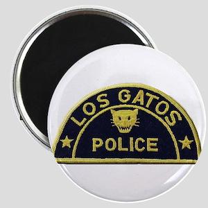 Los Gatos Police Magnets