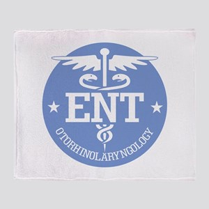 Cad ENT (rd) Throw Blanket