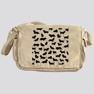 Basset Hounds Messenger Bag