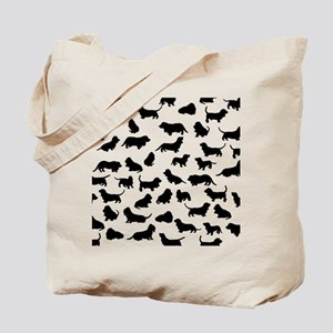 Basset Hounds Tote Bag