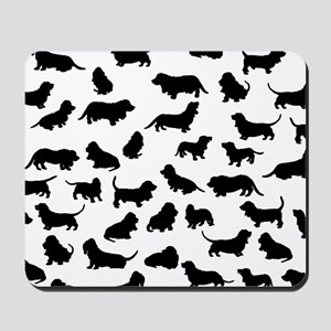 Basset Hounds Mousepad