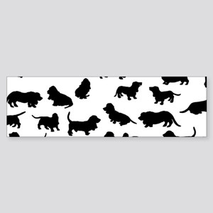 Basset Hounds Bumper Sticker