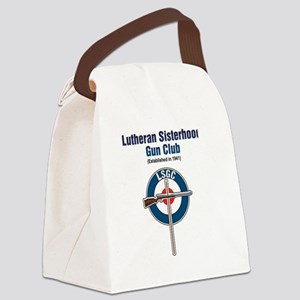 Lutheran Sisterhood Gun Club Canvas Lunch Bag