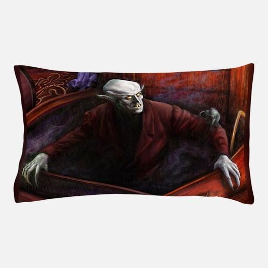 Dracula Nosferatu Vampire Pillow Case