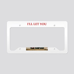 bocce License Plate Holder