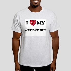 I love my Acupuncturist hearts design T-Shirt
