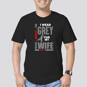 I Wear Grey For My Wife (Brain Cancer Awareness) T
