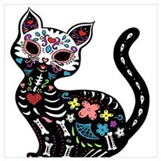 Dia de los Gatos Poster