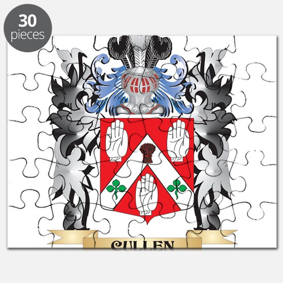 Cullen Coat of Arms - Family Crest Puzzle