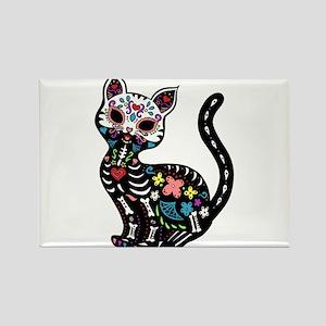 Dia de los Gatos Magnets