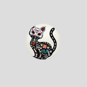 Dia de los Gatos Mini Button