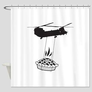Pie Shower Curtain