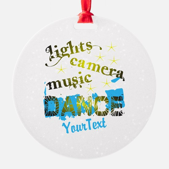 CUSTOMIZE Text Dance Ornament