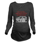 table tennis Long Sleeve Maternity T-Shirt
