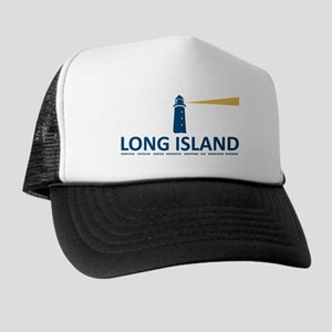 Long Island - New York. Trucker Hat