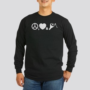 Prosciutto Long Sleeve Dark T-Shirt