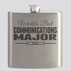 Worlds Best Communications Major Flask