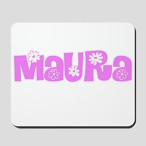 Maura Flower Design Mousepad