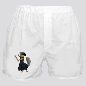 Girl Squirrel Grad Boxer Shorts