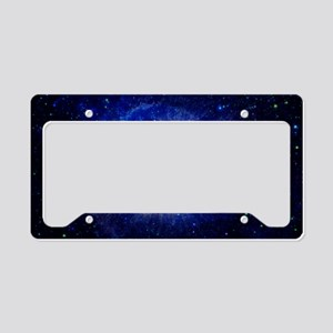 Helix Nebula (UV) License Plate Holder