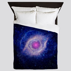 Helix Nebula (UV) Queen Duvet