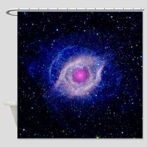 Helix Nebula (UV) Shower Curtain