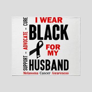 I Wear Black For My Husband (Melanoma Cancer Aware