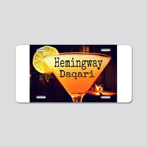 Hemingway Daqari Aluminum License Plate