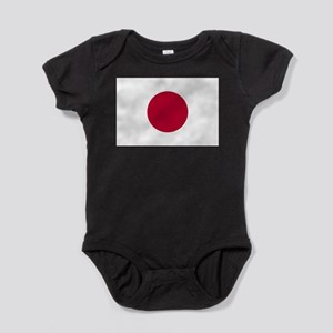 Japan Flag Baby Bodysuit
