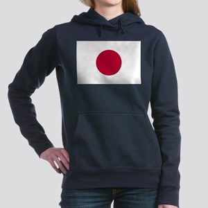 Japan Flag Women's Hooded Sweatshirt