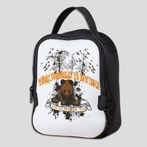 The World is Dying Neoprene Lunch Bag