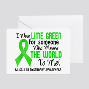 Muscular Dystrophy MeansWorldToMe2 Greeting Card