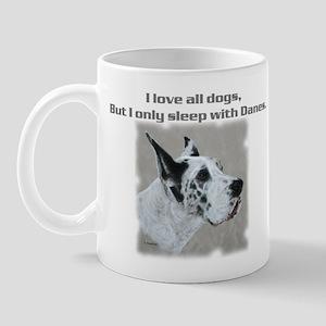 Sleep with Danes Mug