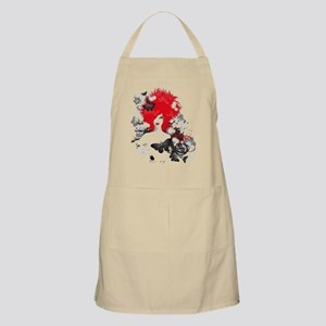 Red Hairs Apron